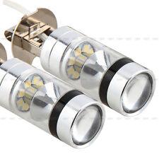 2x H3 100W LED Lámpara Coche Bulbo Bombilla Luz Blanca Fog Light 12V