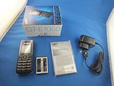 Original Samsung GT-E1050 Handy Simlockfrei Black Schwarz Unlocked Neu New 1050