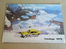 95N Vintage Luso Toys Portugal Catalogue 16 Pages de 1979