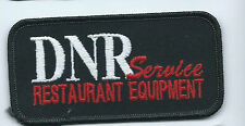 DNR Service reesturant equipment patch 2 X 4 #1313