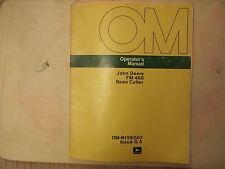 John Deere Operators Manual FM 468 Bean Cutter OM-N159340 Issue G 4
