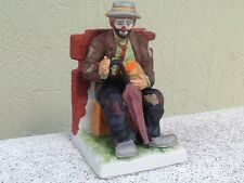 "The Emmett Kelly Jr. Collectible ""Mint"" Exclusively From Flambro ""Signed Piece"""