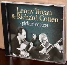 TRUE NORTH CD TND-272: Pickin' Cotten - Lenny Breau, Richard Cotten - 2001, USA
