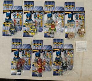 "Medicom toy, DC Comic Batman Kubrick Series 1 ""Batman set"" of 7 (14A)"