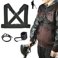 Sling Swing Metal Detector Bungee Support Harness Pro-Swing Support Belt