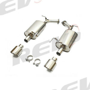 REV9 FLOWMAXX SS PERFORMANCE AXLE BACK EXHAUST FOR 11-13 INFINITI M37 M56 Y51