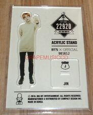 BANGTAN BOYS BTS 2ND MUSTER ZIP CODE 22920 GOODS ACRYLIC STAND : JIN NEW
