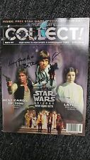 "Mark Hamill Star Wars ""May Your Aim Be True"" Signed Autographed Magazine JSA LOA"