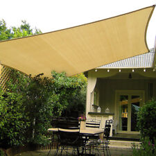 280gsm HDPE Sun Shade Sail Cloth Canopy Awning Shelter Outdoor Square  #