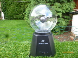 BOXED : Ball Plasma Lamp Light Magic Table 4 Inch GLOBE : GOOD WORKING ORDER
