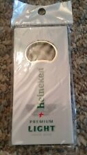 "Vintage "" NIP "" Heineken Premium Light Bottle Opener "" GREAT COLLECTIBLE USEABLE"