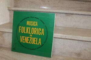 LP , vinyl. Aretz...    musica folklorica de venezuela