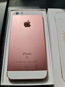 Iphone SE Boxed O2 With Mophie Space Pack