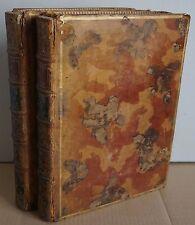 Les Oeuvres de M. Boileau Despreaux. Chez la Veuve Alix. 2 volumes 1740 Cochin
