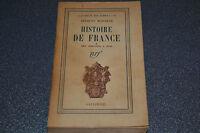 Jacques Madaule, Histoire de France * Des origines à 1715 (L4)