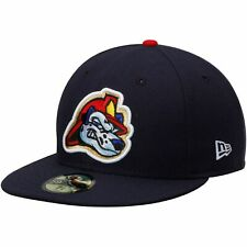 Peoria Chiefs New Era Authentic Home 59FIFTY Fitted Hat - Navy