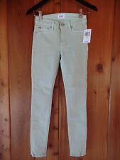 New Hudson Nico Midrise Ankle Skinny Size 24 $176 Color: Mint Made in USA
