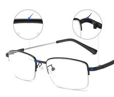 Multifocal Progressive anti-blue Reading glasses Memory flexible titanium Alloy