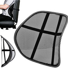 MESH BACK SUPPORT LUMBAR LOWER CUSHION BACK PAIN RELIEF LUMBER CAR SEAT OFFICE