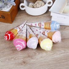 Washcloth Ice Cream Shaped Washing Towel Gift Party Favor Children Gif SL