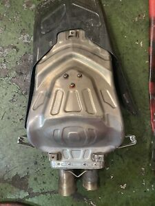GENUINE DUCATI 999 749 TERMIGNONI EXHAUST END CAN RACE TRACK PAYMENT ON COL PLS