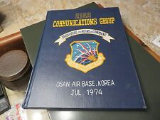 Air Force 2146 Communications Group Osan AB Korea 1974 Yearbook COMM SQUAD   #BO