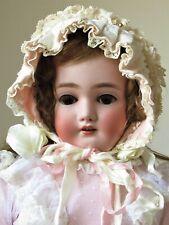 "Exquisite Franz Schmidt 269 S & C Antique Bisque Head German Doll 24"""
