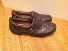 Naturalizer Brown Leather Loafers Slip On Walking Shoes US 8.5 M