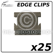 Fasteners Edge Clips Thickness 6,7 To 8,1 MM (All Vehicles) Part 1185 Pack of 25