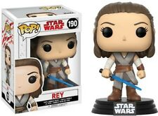 The Last Jedi - Rey - Funko Pop! Star Wars: (2017, Toy NUEVO)