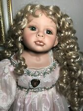 Rare Gorgeous Victorian Doll Numbered Linda Rick and Beverly Stoehr Vinyl Signed
