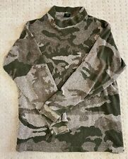 Cabela's Men's Berber Fleece Outfitter Camo LS Pullover Hunting Shirt - Large