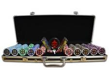 Maletín Poker European 300 500 o 1000 Fichas Poker Proffesional Poker Set