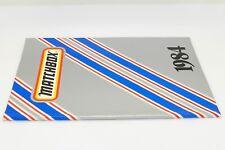 MATCHBOX CATALOGUE ANNÉE 1984 - EDITION FRANÇAISE - FORMAT A4