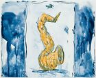 Claes Oldenburg: Soft Saxophone (Blue, Yellow, Red),1992. Signed, Numbered Print
