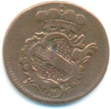 Baden-Durlach 1/2 Kreuzer 1772 WH Karl Friedrich