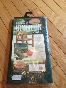 Bosmere Armchair Cover Green Premier Deck Furniture Garden Protection Cover