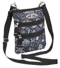 Harley-Davidson® Women's Gray Tattoo Cross-body Sling Bag Purse (7.75x9.5) 99616