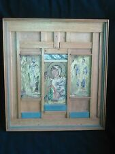 Quadro - icona in legno cm (40,5x37,5)