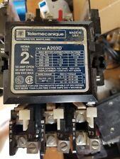 Telemecanique A203D Size 2 Open 600VAC 50A Starter 240V Coil ITE 50 Amp