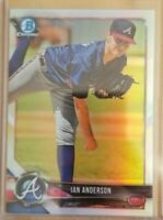 IAN ANDERSON 2018 Bowman Chrome Draft RC REFRACTOR #BDC-183! BRAVES! INVEST NOW