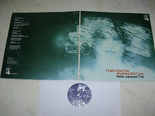 PETER JACQUES TRIO I Can´t Give You....CH-PAN-LABEL