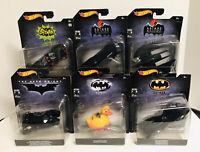 Hot Wheels Batman 80th 1:50 Batmobile 1989 Classic Dark Night Animated Batwing