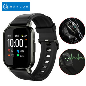 Xiaomi Haylou LS02 Smart Watch Fitness Tracker IP68 Nero Per Android IOS Regalo