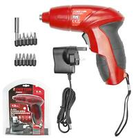 Dekton 13pc Rechargeable Cordless 3.6v Electric Screwdriver Set With Screw Bits