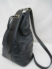 -AUTHENTIQUE sac bandoulière mono bretelle POURCHET cuir TBEG vintage bag