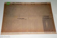 Microfich Ersatzteilkatalog Toyota Hilux - 4 - Runner Stand 11/1985