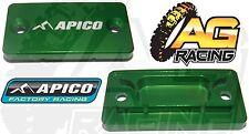 Apico Verde Freno Delantero Cilindro Maestro Cubierta Para Kawasaki Kx 125 1992-2008 Nuevo