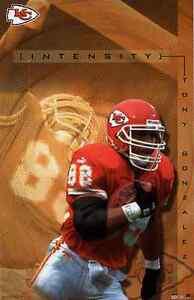 2001 Tony Gonzalez Kansas City Chiefs Original Starline Poster OOP