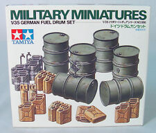 1/35~ German Fuel Drum Set WWII~  Tamiya  Infantry Model~ MIB~